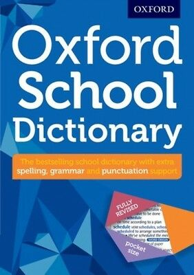 Oxford School Dictionary Oxford Dictionaries 9780192747105