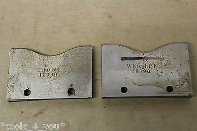 Set of Whitehill 80mm Spindle Moulder Cutters With Limiters Good Condition ST29