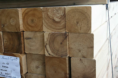 Pack Lot  100 x 100 x 2.7m - Dressed Cypress Posts - $9.00 lm  Pack # Q16