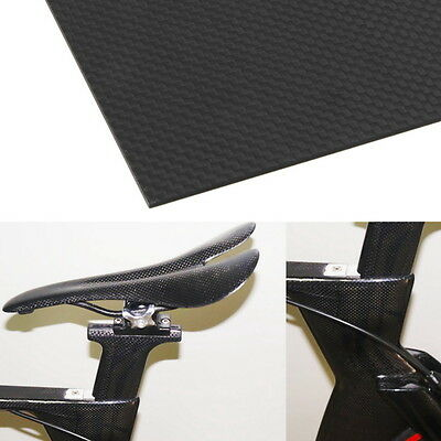 200×300×3mm With 100% Real Carbon Fiber plate panel sheet 3K plain weave BH