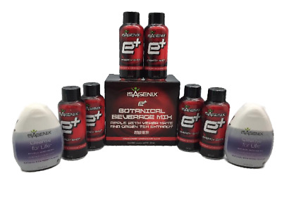 4X New Isagenix Cleanse for Life & e+ Concentrate 56ml Loss Weight Express