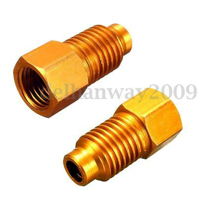 1x Vacuum Pump Air Conditioning Adapter Connector Converter R12 to R134A Gauge