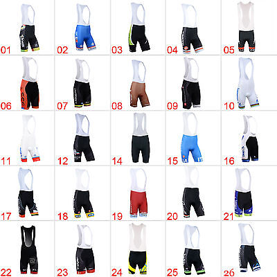 New Mens Sports Bike Cycling Bib Shorts Cycle Clothing Bicycle Wear Size S-3XL