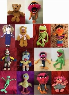 THE MUPPET SHOW & Sesame Street Soft Toy Various Characters