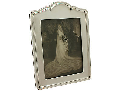 Sterling Silver Photograph Frame - Antique George V