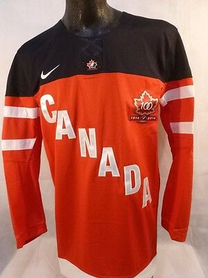 Nike TEAM CANADA IIHF 1914-2014 Official Jersey Gym Red/Black 638675 657