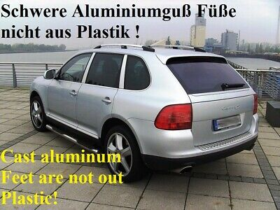 PORSCHE CAYENNE - from 2003 -2010 ROOF RAILS in chrome with ABE