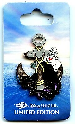 Disney Cruise Lines - Anchor Series - Ursula and Eels Pin