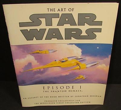 Star Wars The Art of Star Wars Episode I Exclusive Video Collector Edition