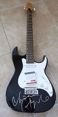 Chrissie Hynde Pretenders Body Signed Autographed Electric Guitar PSA Certified