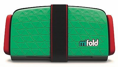 mifold Grab-and-Go Car Booster Seat Lime Green