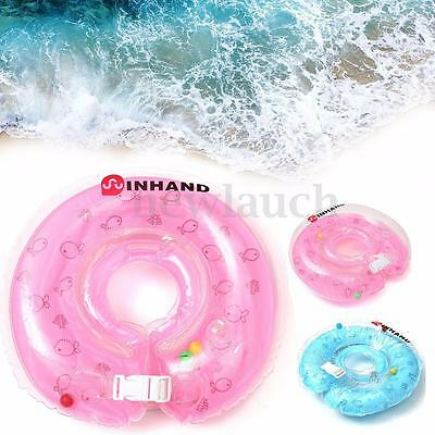 New Baby Infant Swimming Pool Bath Neck Float Inflatable Ring Collar Safety Aids