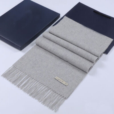 New Women's Winter 100% Cashmere Pashmina Solid Tassel Shawl Wrap Scarf Scarves