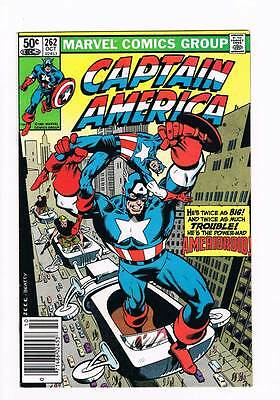 Captain America # 262 Death of a Legend ! grade 8.5 scarce book !!