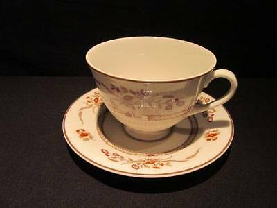 Royal Doulton Russet Glen #TC1133 Fine China Cup & Saucer dated 1981