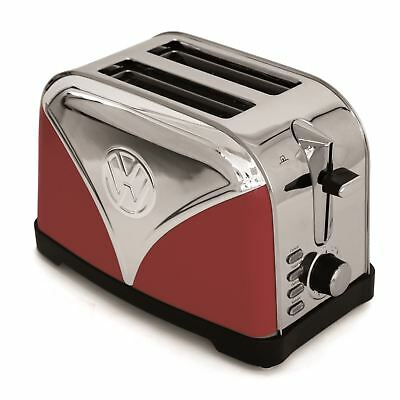 Official Volkswagen Toaster Red VW Camper Van Stainless Steel Bread Toaster