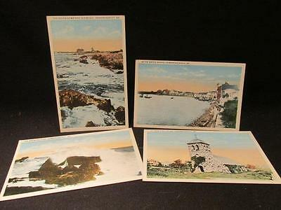 Kennebunkport Me Four Vintage Whitcombe Studio Postcards