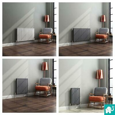 Horizontal Designer Column Radiators Double and Single Central Heating Panel NEW