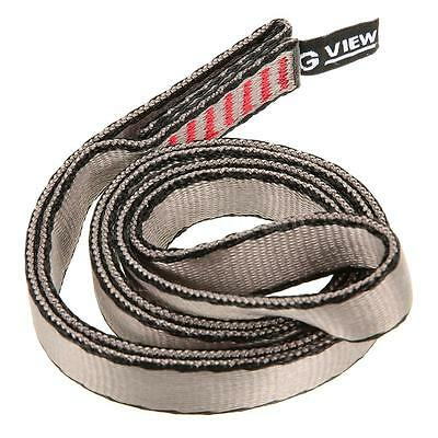 Tree Rock Climbing Contact Express Sling Quickdraw Webbing Strap 16mmX60cm D4O0