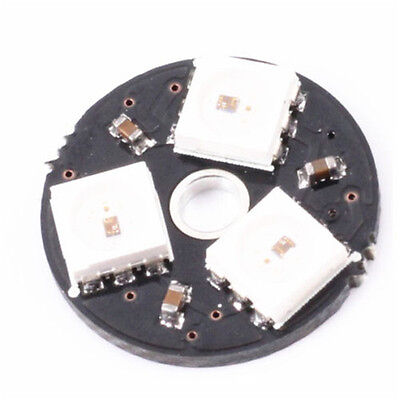 WS2812 3Bit 5V 5050 RGB LED Lamp Panel Board Round for Arduino