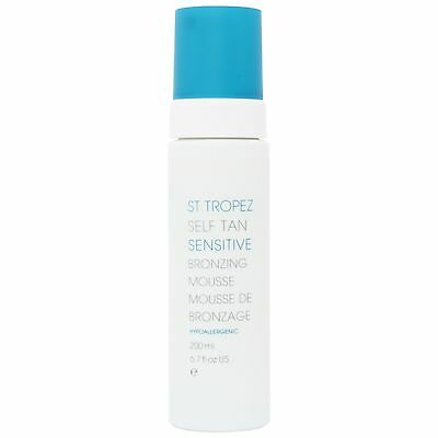 NEW St Tropez Self Tan Sensitive Bronzing Mousse 200ml FREE P&P