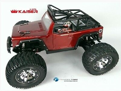 Thunder Tiger 6411-F112 KAISER e-MTA BL 4WD 6S Monster Truck 2.4 GHz red RTR 1:8