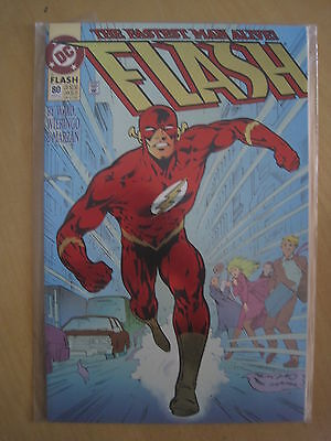 The FLASH VoL 2 # 80 ENHANCED REFLECTIVE COVER. by MARK WAID. DC. 1993