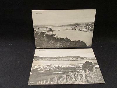 Appledore & Bideford 2 Valentine & Sons 1906 Postcards #10090 & 10026