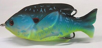 "1 New 3-1/2"" Sunfish Topwater Fishing Lure  *S6*"