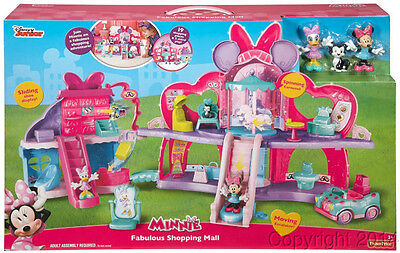Fisher Price Disney Minnie Mouse Fabulous Shopping Mall NEW!