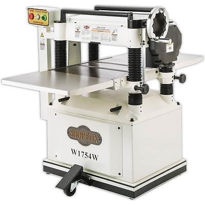 """Shop Fox W1754W—20"""" Planer with Built in Mobile Base (New in Crate)"""