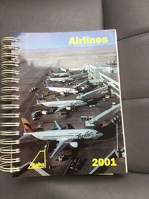 Aviation Book - Airlines 2001 Tahs