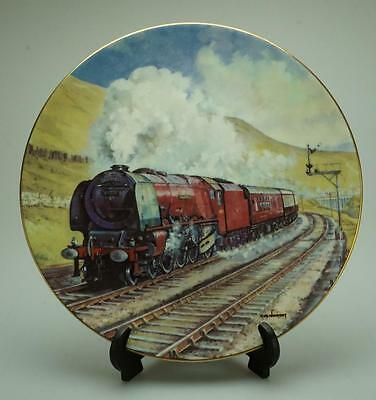 Royal Doulton The Age of Steam Duchess at Dent Plate Original Box P142