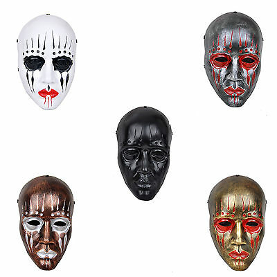 Multi-color Paintball Airsoft Slipknot Joey Full Face Mask Evil Cosplay PROP