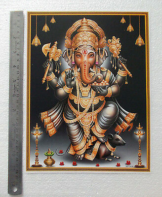 """Lord Ganesha Standing - Normal Paper POSTER (9""""x11"""")"""