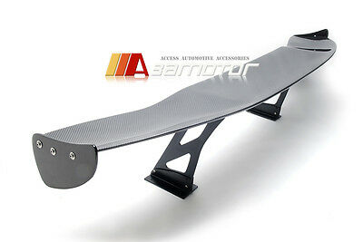 69 Inch Universal JDM Carbon Fibre Rear Racing GT Style Trunk Spoiler Wing Deck