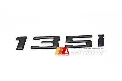 135i Trunk Lid Emblem Badge Carbon Fiber Letter fo BMW E81 F20 E87 E88 1-Series