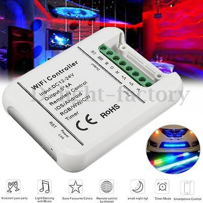 DC12-24V Wireless Wifi LED Strip RGB RGBW Controller 5 Channels For Mobile Phone