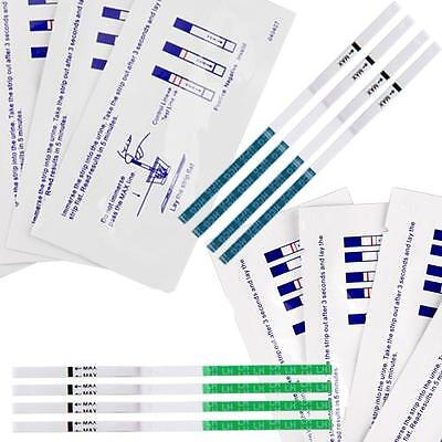 60 Ovulation Fertility + 30 Early Pregnancy Test Kit Strips Healthcare