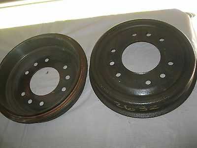 New 1956-66 Ford Truck F350 front brake drum set