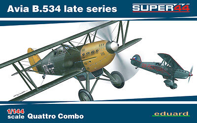 EDUARD 4452 Avia B.534 Late Series Super44 in 1:144 Quattro Combo