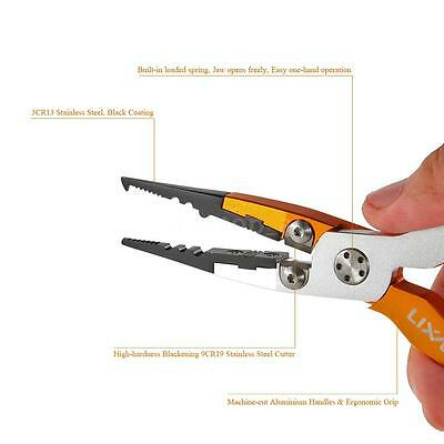"""Aluminum 7.09"""" Fish Plier Fishing Pliers Tackle Tool -Perfect Low Profile POP"""
