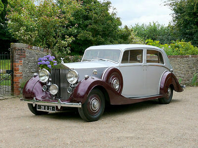 1939 Rolls Royce Wraith Touring Limousine By Park Ward