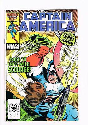 Captain America # 320 The Little Bang Theory ! grade 7.5 hot book !!