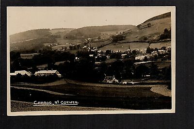 Carrog near Corwen - real photographic postcard