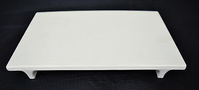 Sushi Plate Serving Dish Board White Melamine Tray 9.5 x 6 Restaurant
