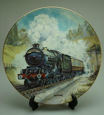Royal Doulton The Age of Steam Majestic King PN104 Plate Original Box P147