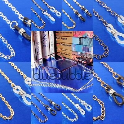 "Funky Glasses Chain Holder 30"" Long Neck Cord Reading Sunglasses Spectacles Uk"