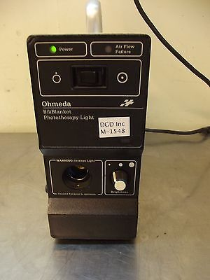 Ohmeda Biliblanket Phototherapy Light w/3 Settings-Works Good-M1548