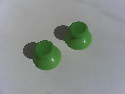 2 NEW Analog Thumbstick Thumb Stick Replacement for XBOX One Controller Green